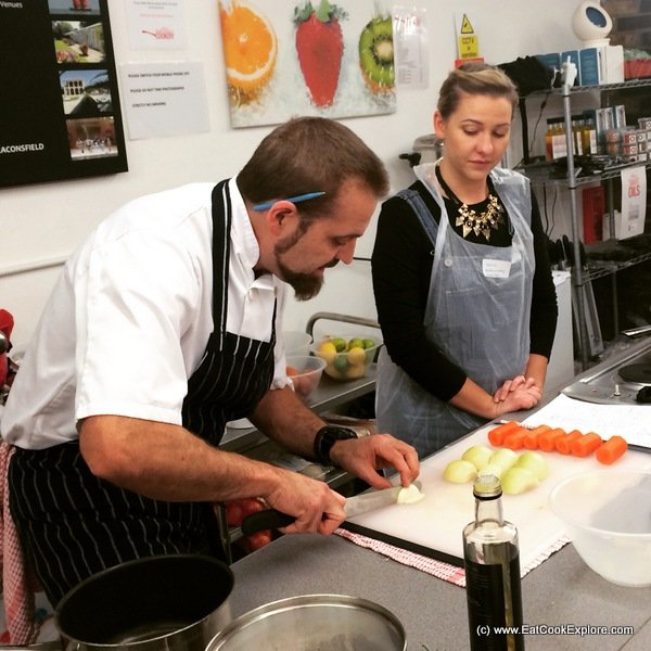LV Lovelife Cooking lesson
