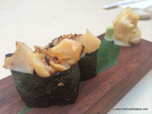Sticks n sushi Marinaded cod sushi