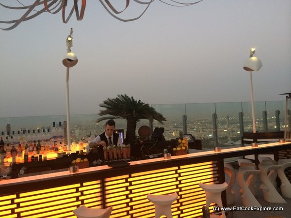 Dubai Food Festival 2015 Rooftop Bar