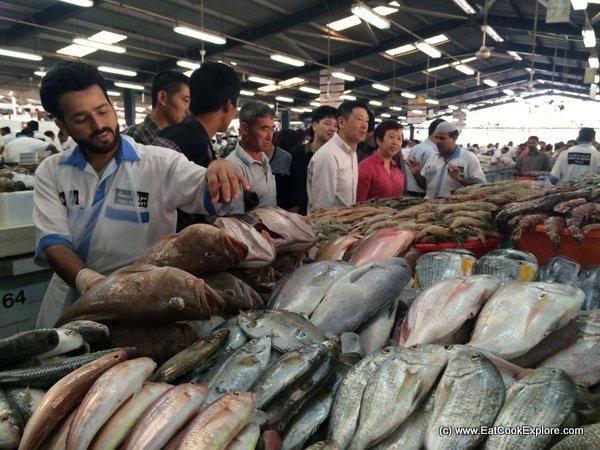 Dubai Food Tour Fish Market