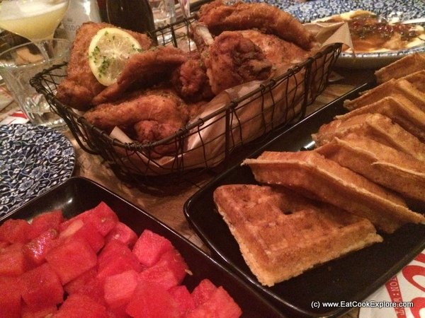 Fried Chicken and Waffles at Joe's Southern Kitchen