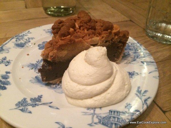 Joe's Southern Kitchen Sinful Chocolate peanut butter fudge pie