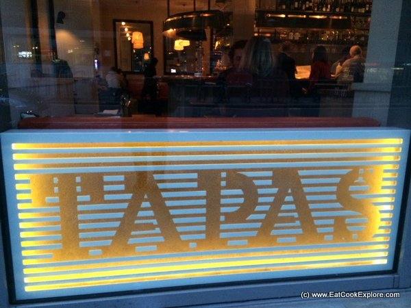 Tapas revolution Shoreditch