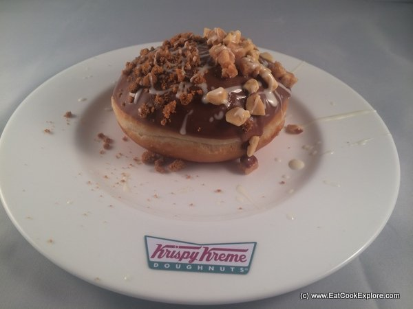 Here is one I made earlier - a chocolate covered doughnut