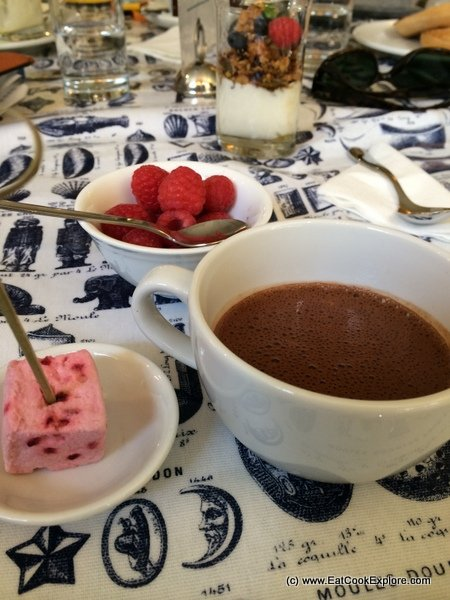 A Chocolate Breakfast at Rococo Chocolates