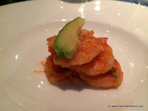 Lisa Mc Guigan wine matching dinner- Ecuadorian Ceviche
