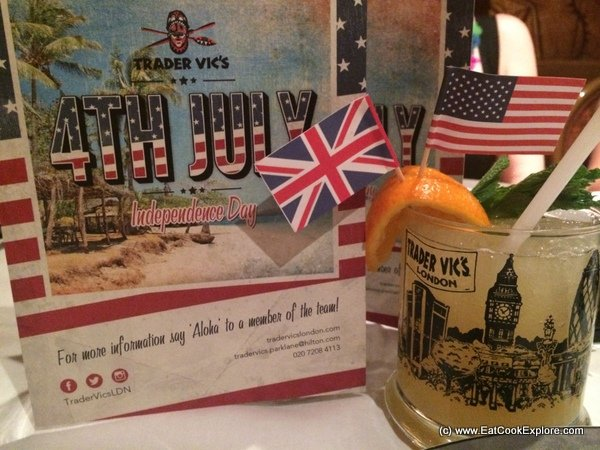 Revisiting Trader Vics for the Independence Day Menu