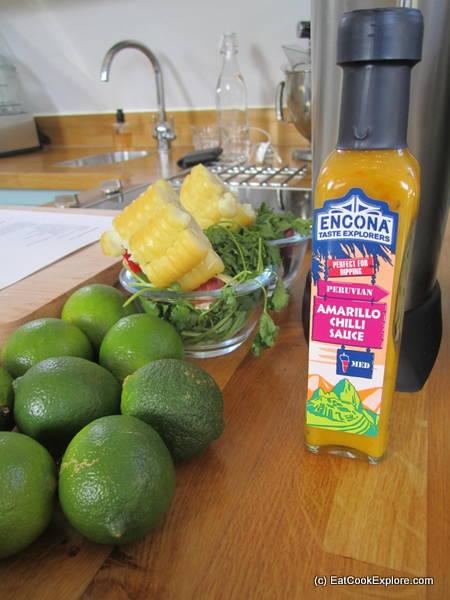 Encona Aji amarillo Sauces Peruvian Cooking