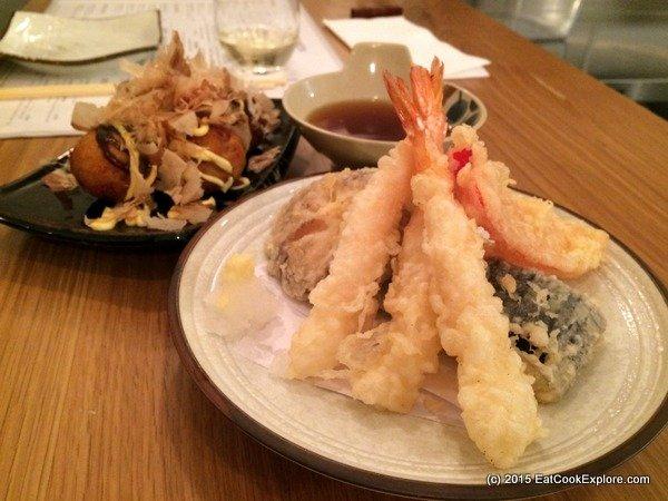 Muga mixed tempura