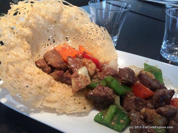 Yauatcha City Foie Gras Diced Beef