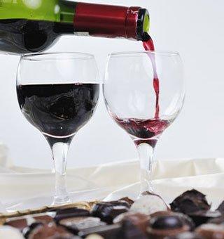 chocolate wine matching