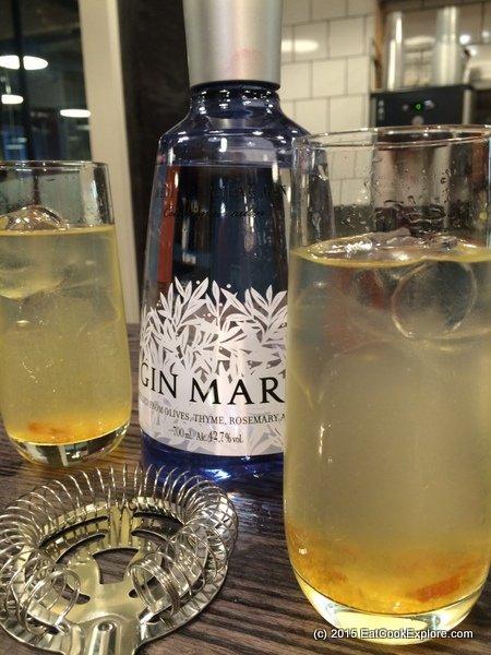 Gin Mare Triple Orange Cocktail
