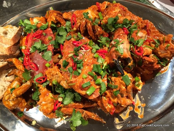 Malaysian Chilli Crab Recipe