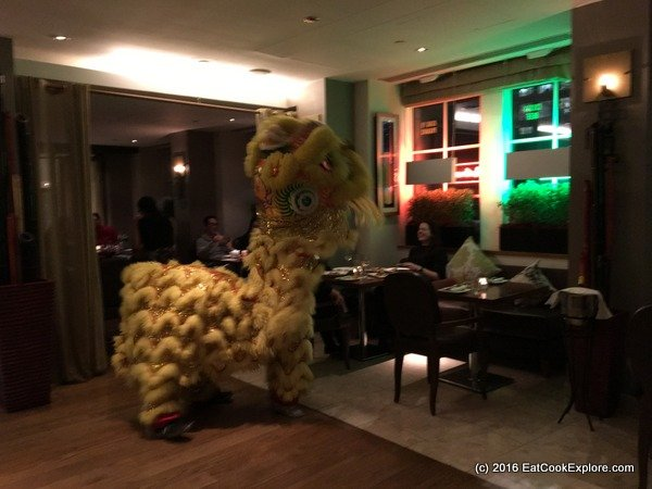 chinese cricket club Chinese New Year Lion Dance