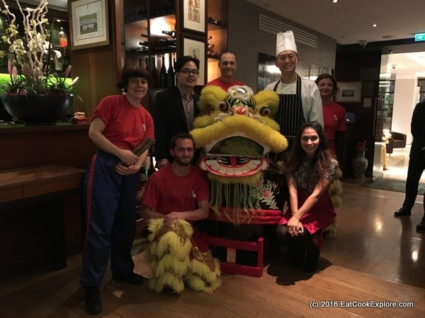 chinese cricket club Chef Ken Wang and team
