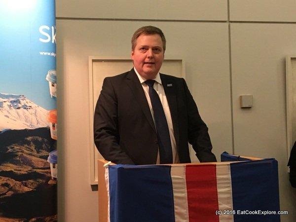 Sigmundur Davíð Gunnlaugsson Prime Minister of Iceland