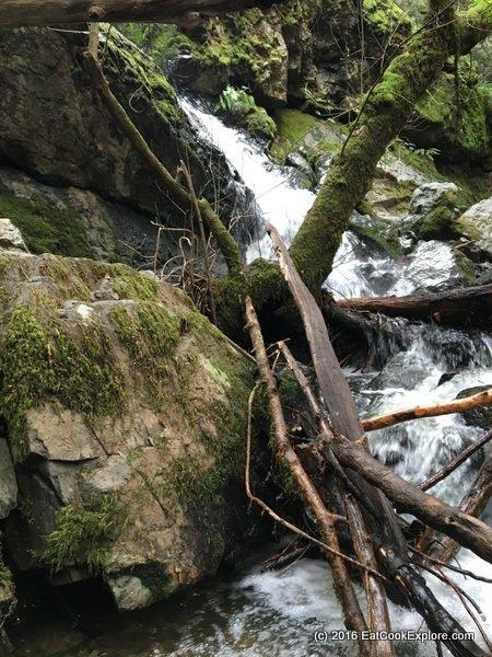 More gushing waterfalls