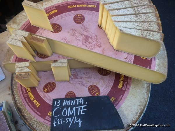 borough market Comte Cheese 13 months