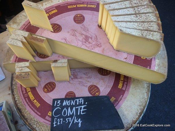 borough market Comte Cheese 13 months
