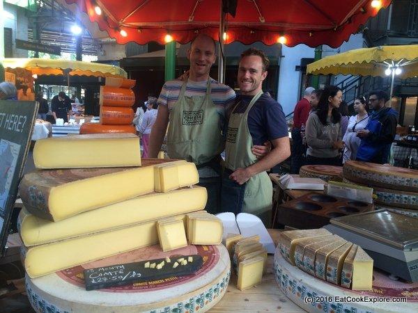 Borough Market Comte Cheese