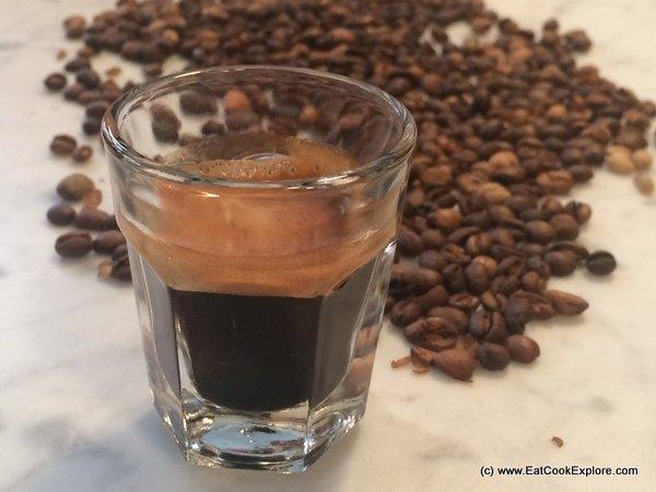 The perfect espresso coffee
