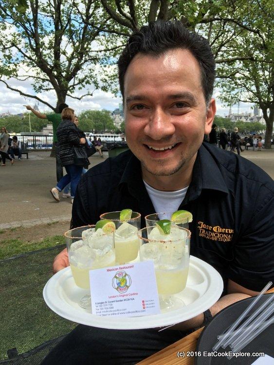 Comidafest Mezcal cocktail