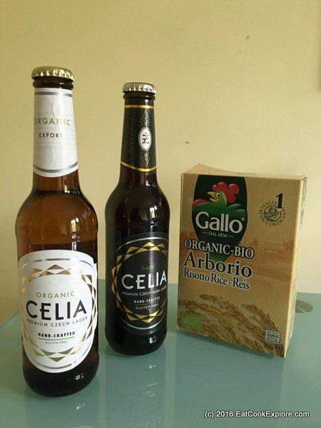 Celia Guten Free Beer Mushrom Risotto