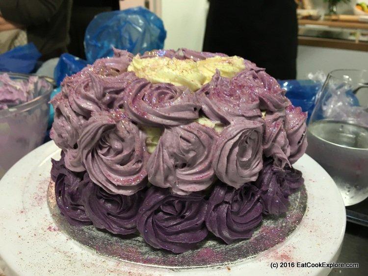 Purple Ombre Eric Lanlard #cakefitforaqueen