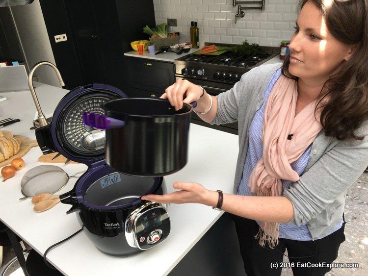 Tefal Cook4Me Multi cooker - dishwasher safe removable bowl