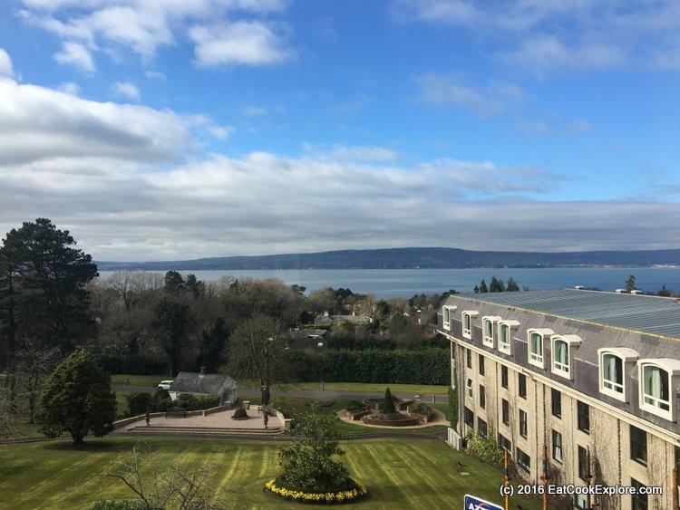 Culloden Estate and Spa - view of the Irish Sea