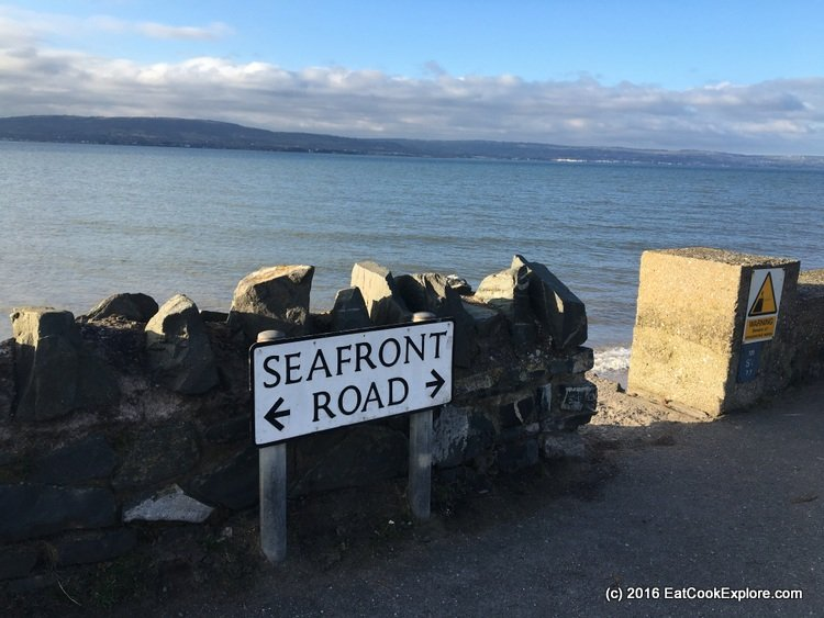 Rory McIroy's home is along this stretch of seafront in Holywood