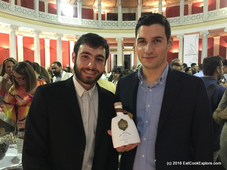 Gastronomos Awards - Spiros and George Dafnis of Governor Olive Oil