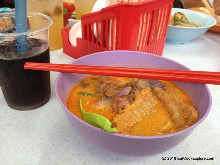 Chinatown KL Curry Laksa Madras Lane