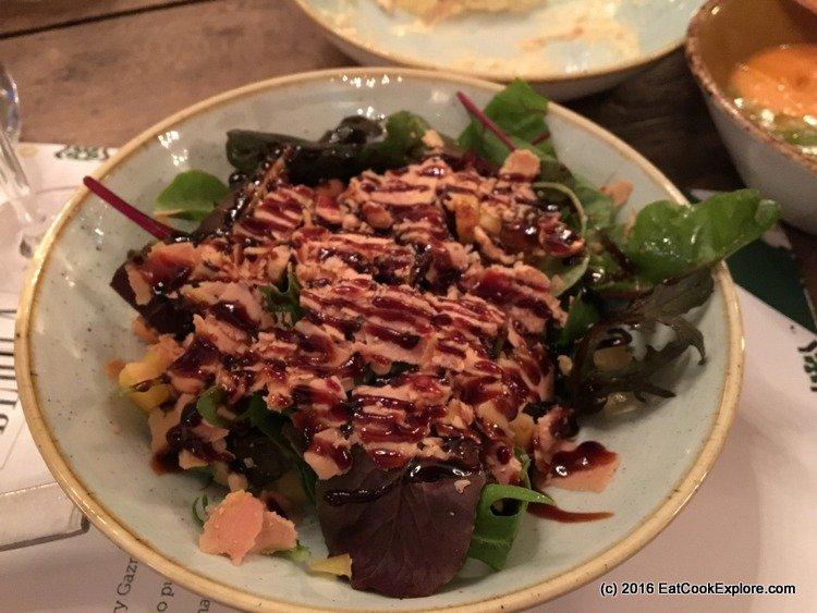 Iberica Spanish Foie Salad
