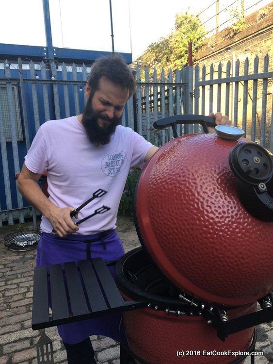 Komodo Joe bbq London BBQ School