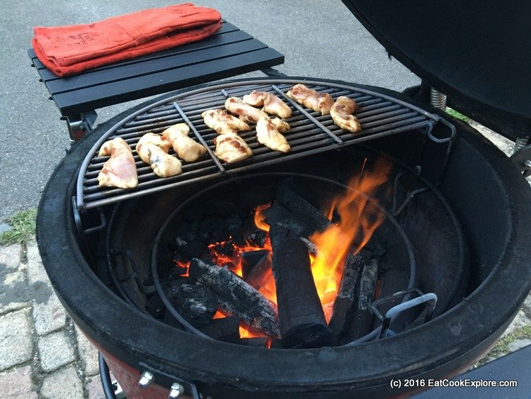 Some chicken on the barbie