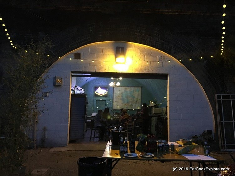 branstons-bbq Dining under the arches