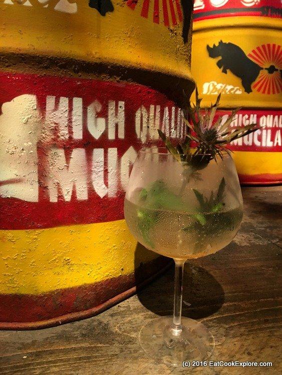 A Roald Dahl Cocktail