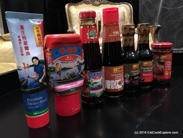 Chinese cooking sauces