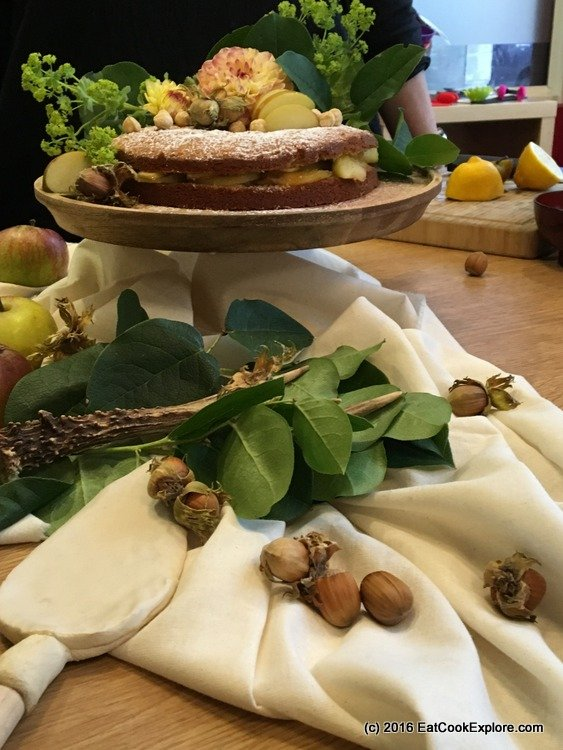 baked-in-style Carole's set up with lots of lovely props