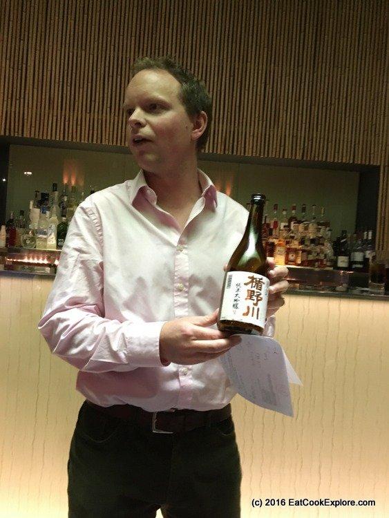 Ollie fron Tengu Sake