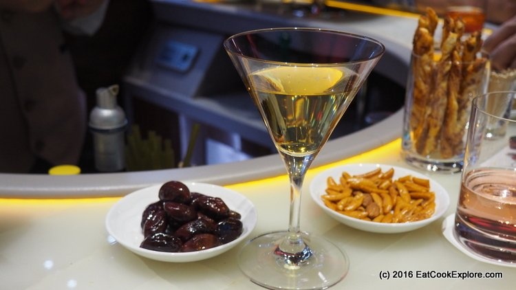 Cocktails and Nibbles at the Sky Bar