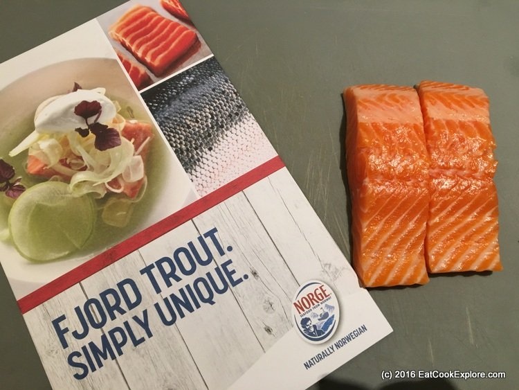 Norwegian fjord-trout