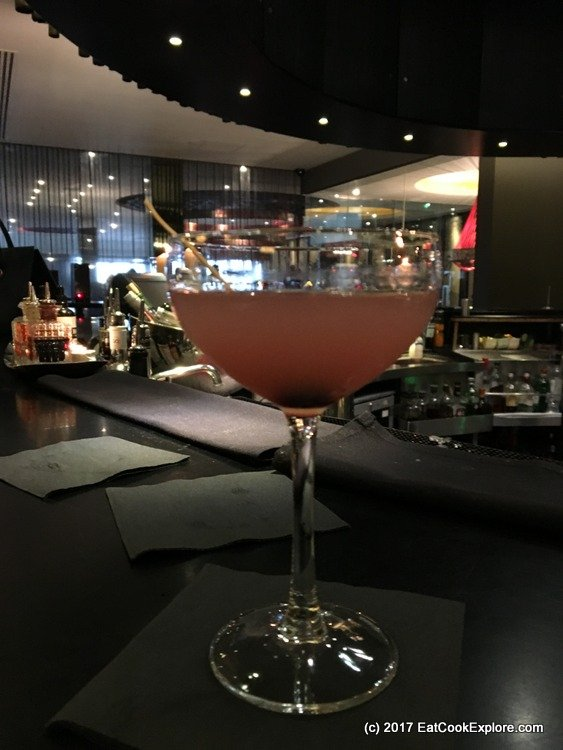 Aqua Kyoto Cherry Blossom Cocktail