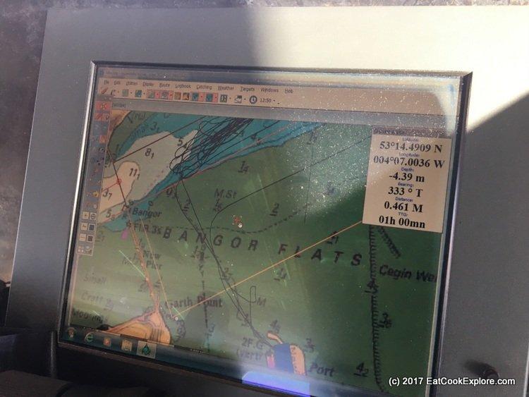 Onboard the Mare Grande Mussel Boat