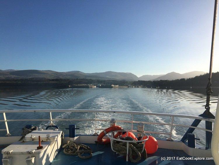 Menai Mussel Boat Mare Gratia view from the back