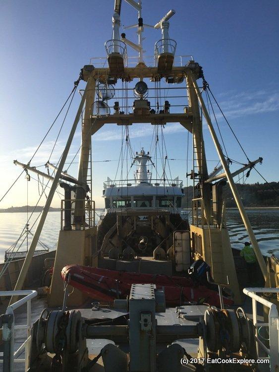 Menai Mussel Boat Mare Gratia 10m rigging