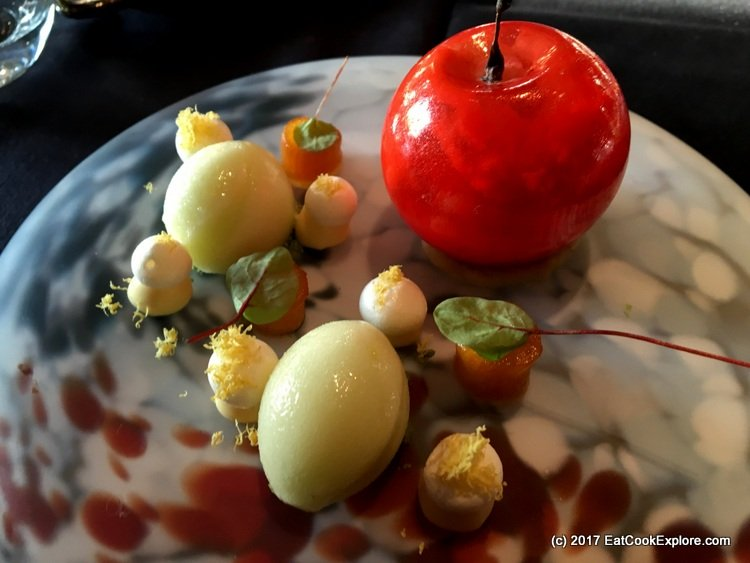 The Fuji Apple Dessert Reimagined