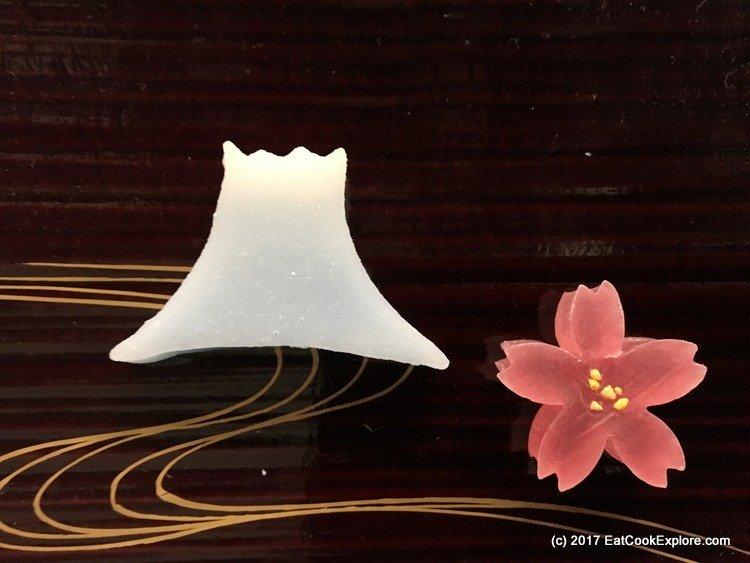 Gift we took away - Mount Fuji and a sakura