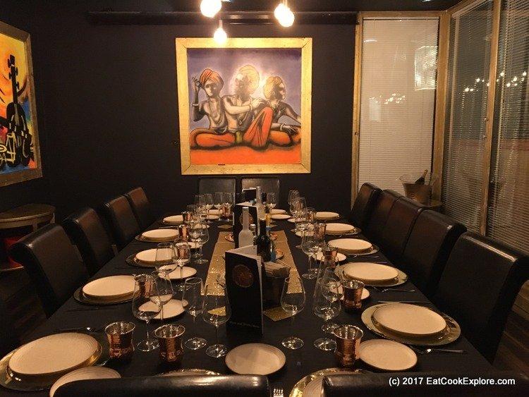 Chai Thali Camden Private Dining Room
